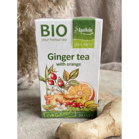 Ingvera tēja ar apelsīniem BIO, 30g (20x1.5)