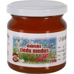 Dažādu ziedu medus (Zaļā Karotīte) 250g