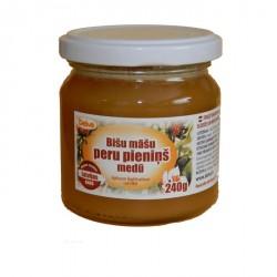 Bišu māšu peru pieniņš medū 240g