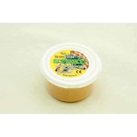 """Bišu vaska ziede """"Sveķu"""" ar propolisa ekstraktu un egļu sveķiem 60g"""
