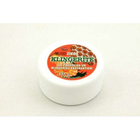 Kliņģerīte Beeswax ointment with propolis and marigold extracts 10g