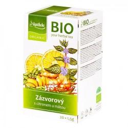 Ingvera tēja ar citronu un piparmētru BIO, 30g
