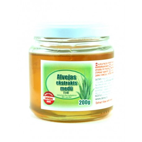 Honey with aloe extract 200g