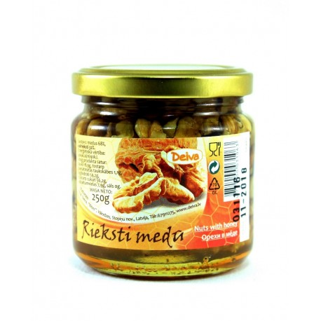 Honey with walnuts 250g