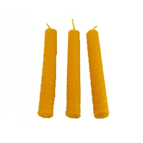 Bišu vaska svece eglīšu formas lietas