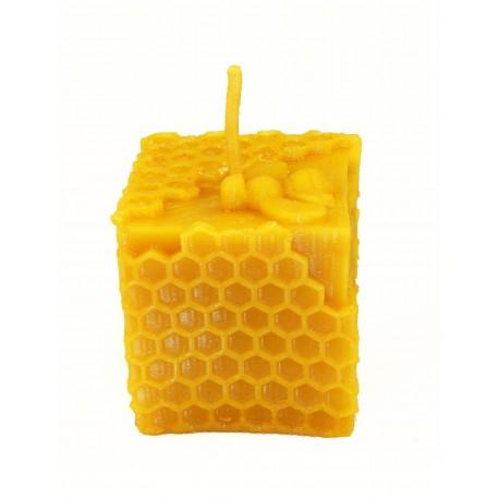 """Vaska svece """"Kubas ar šūnu un bitēm"""""""