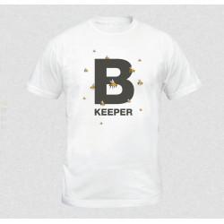 T-krekls Bkeeper, balts