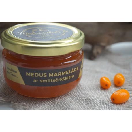 Medus marmelāde ar smiltsērkšķiem 130g