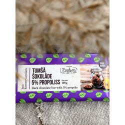 Dark chocolate with 5% propolis 100g